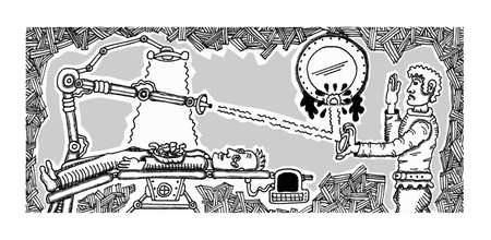 Alien Autopsy Illustration