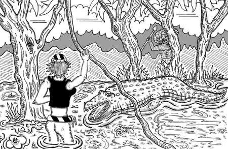 Aligator Attack!
