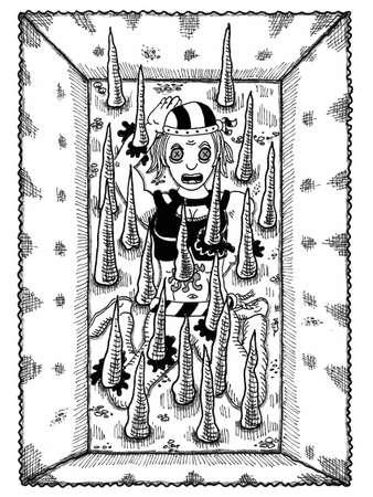 Pit Trap Illustration