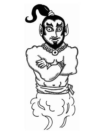 Djinn Illustration