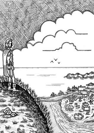 Ocean Village Ilustrace