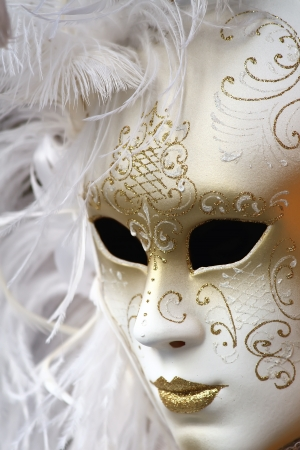 Traditional Venice carnival mask photo