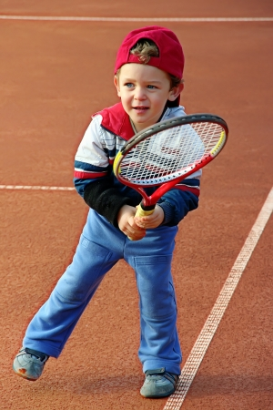 Tennis boy photo