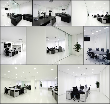 screen partition: Modern office