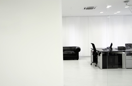 white office: Interior of the modern office Stock Photo
