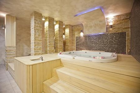 jacuzzi: Hot tub Stock Photo