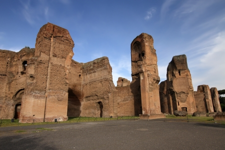 Terme di Caracalla  Baths of Caracalla  in Rome, Italy photo