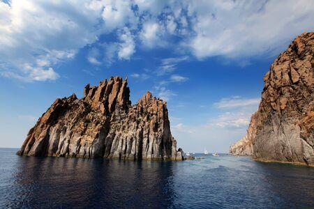 aeolian: Aeolian islands in Italy
