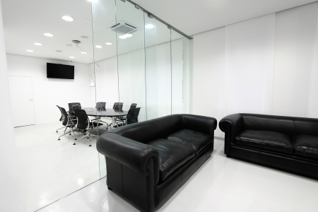 Interior of the modern office photo