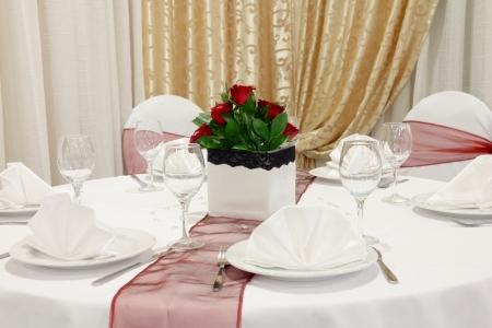 Wedding table Stock Photo - 16391288