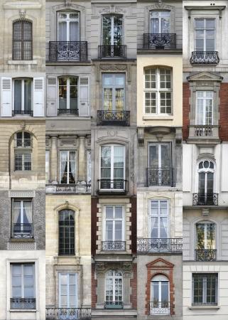 paris vintage: París ventanas