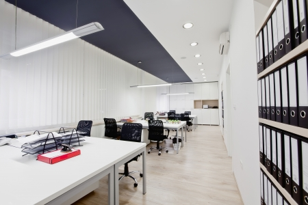 Inter of the modern office Stock Photo - 17060978