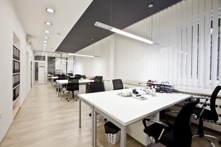 mobiliario de oficina: Interior de la oficina moderna
