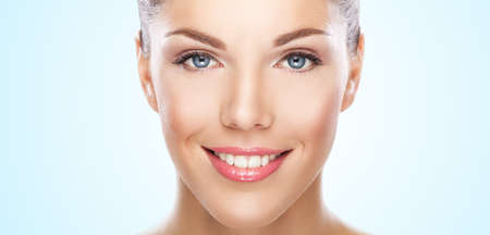 Portrait of the pretty young woman Stock Photo - 17130776