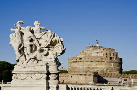 Detail from Vittorio Emanuele Brideg in Rome, Italy Stock Photo - 17246077