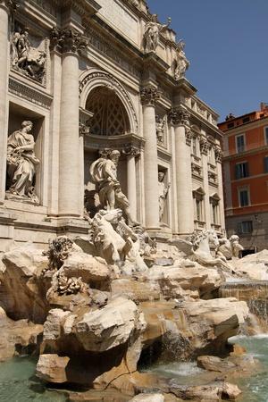 fontana: Fontana di Trevi, Rome, Italy