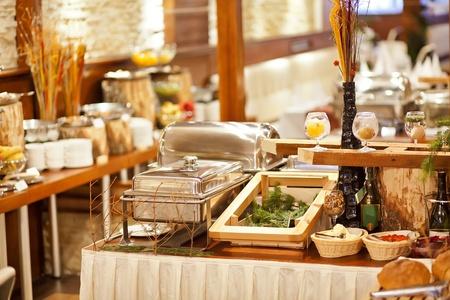 Food in restaurant photo