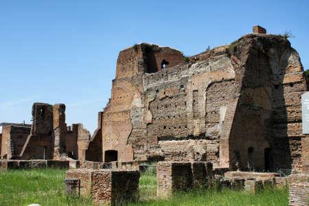 palatine: Palatine hill in Rome, Italy Stock Photo