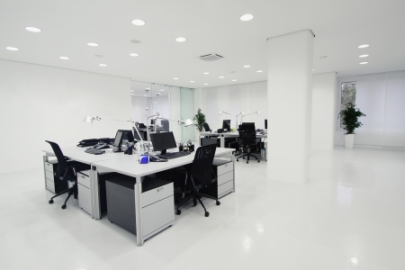Inter of the modern office Stock Photo - 17639153