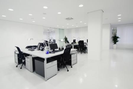 büro: Modern ofis iç Stok Fotoğraf
