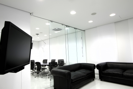 Interior of the modern office Stock Photo - 17639158