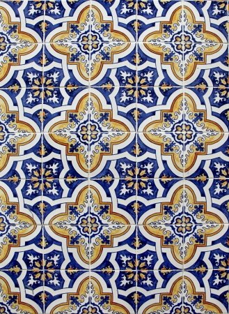 Lisbon azulejos Stock Photo - 18233874