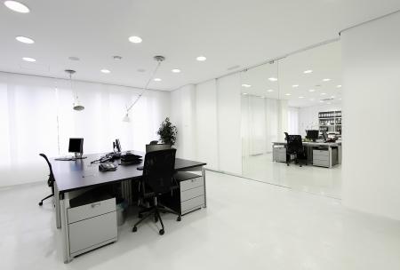 mobiliario de oficina: Oficina Foto de archivo
