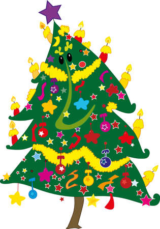 christmass: Arboles Vectores