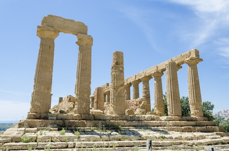 Temple of Juno, Agrigento, Italy photo