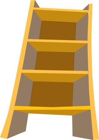 Wooden cabinet Vector