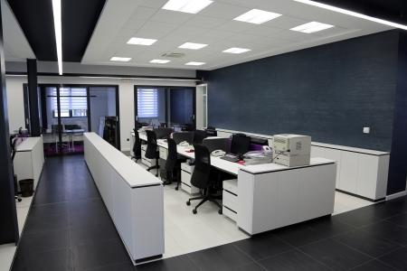 Innenansicht des modernen Büro Standard-Bild - 19537167