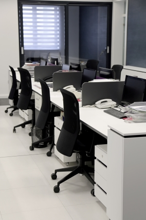 Interior of the modern office Stock Photo