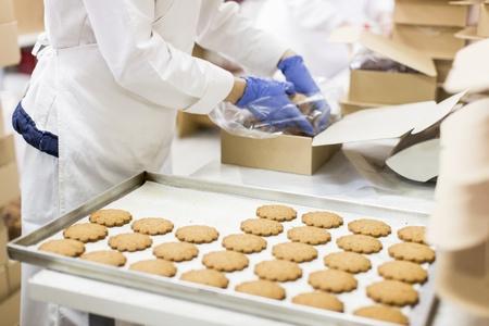 higiena: Fabryka Cookies Zdjęcie Seryjne