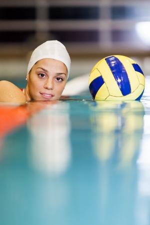 Water polo girl photo