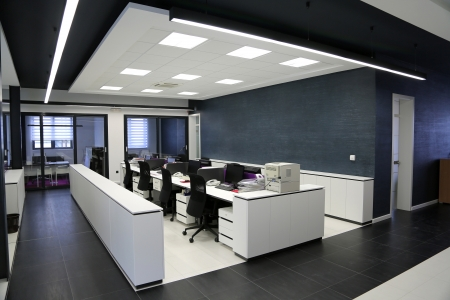 Interior of the modern office Stok Fotoğraf