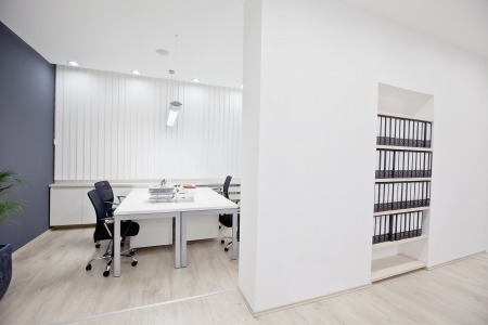 Interior of the modern office Фото со стока