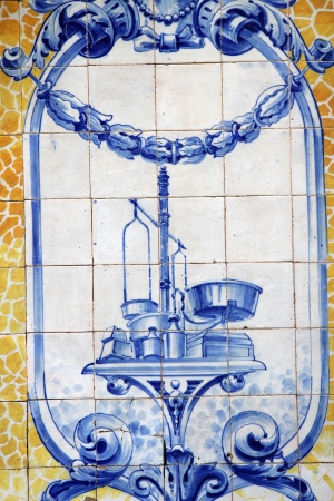 Lisbon azulejos Stock Photo - 19898924