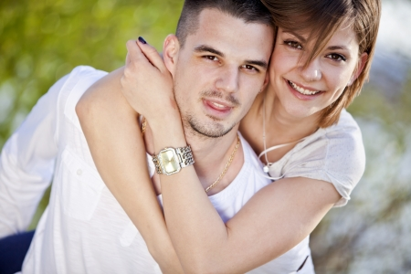 Young couple photo