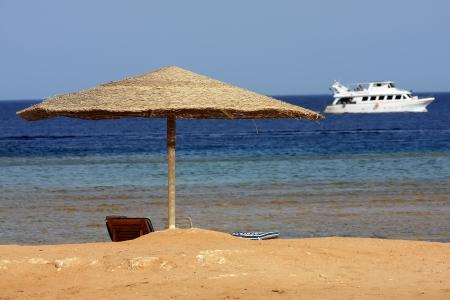 el sheikh: Beach Stock Photo