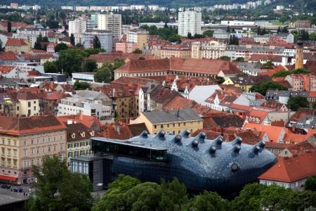 View at Graz city, Austria