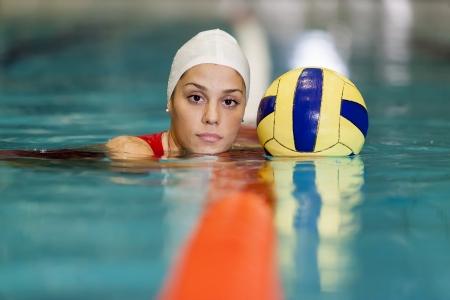 water polo: Chica de waterpolo