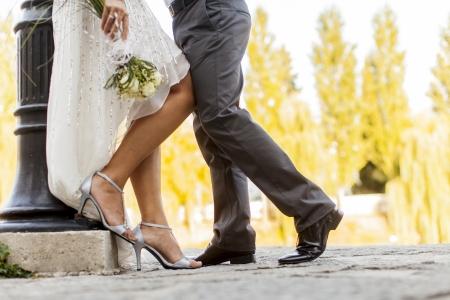 Wedding couple Reklamní fotografie