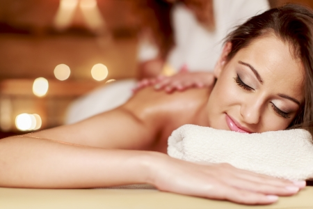 spa therapy: Massage