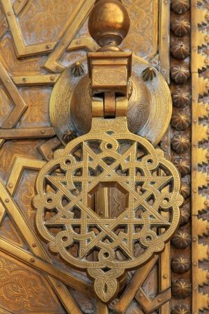 Moroccan door photo