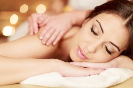 massaggio: Massaggio Archivio Fotografico