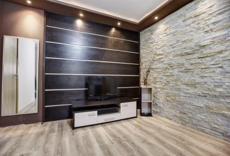 Modern interieur Stockfoto