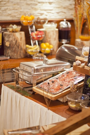 catering service: Food