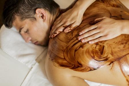 relaxamento: Massagem Chocolate quente Imagens