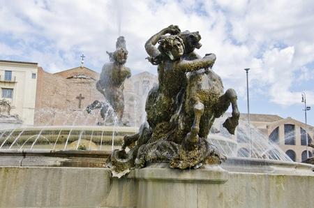 fontana: Fontana delle Naiadi in Rome, Italy