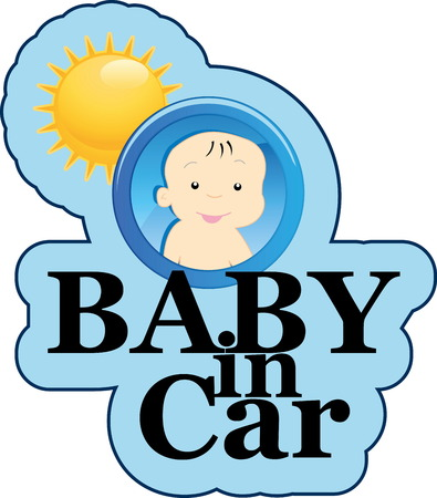 Baby on board sign Stock Vector - 22200012